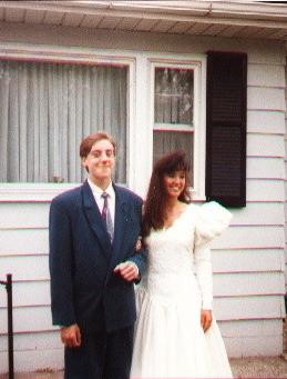 Nate & Amy, High School Homecoming 1990