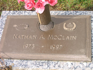 Nate McClain Tombstone 1973 - 1997
